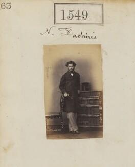 Nicholas Fachiri, by Camille Silvy - NPG Ax50943