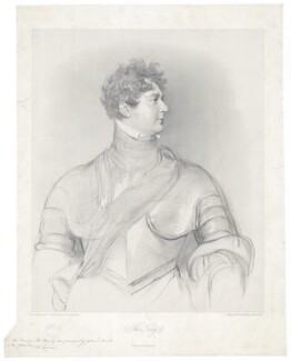 King George IV, by Richard James Lane, printed by  Charles Joseph Hullmandel, after  Sir Thomas Lawrence - NPG D33345