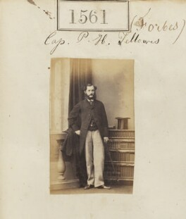 Peregrine Henry Fellowes, by Camille Silvy - NPG Ax50955