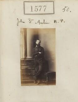 John St Aubyn, 1st Baron St Levan, by Camille Silvy - NPG Ax50971
