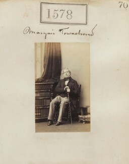 John Townshend, 4th Marquess Townshend, by Camille Silvy - NPG Ax50972