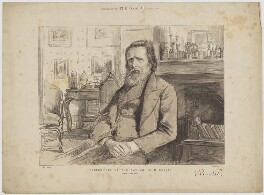 John Ruskin, published by The Graphic, after  Theodore Blake Wirgman - NPG D33438