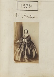 Elizabeth Mary Arabin (née Meux), by Camille Silvy, 1 November 1860 - NPG Ax50973 - © National Portrait Gallery, London