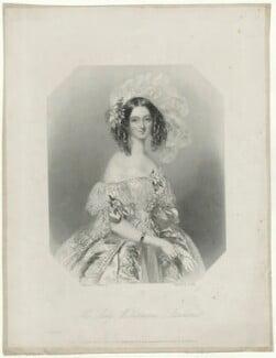 Catherine Lucy Wilhelmina Powlett (née Stanhope), Duchess of Cleveland, after Alfred Edward Chalon - NPG D33443