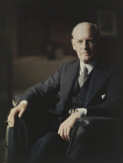 John Galsworthy, by Olive Edis, 1922 - NPG  - © National Portrait Gallery, London