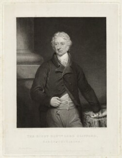 Charles Clifford, 6th Baron Clifford of Chudleigh, by Charles Fox, after  James Ramsay - NPG D33451