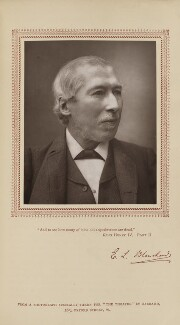 Edward Litt Leman Blanchard, by Herbert Rose Barraud, published by  Carson & Comerford, published 1 October 1885 - NPG Ax29224 - © National Portrait Gallery, London