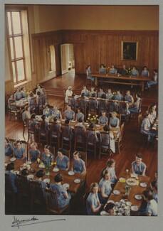 'The Refectory of St. James' School, Malvern', by Madame Yevonde - NPG x34354