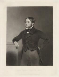 John Talbot Clifton, by Samuel Bellin, after  John Bostock - NPG D33453
