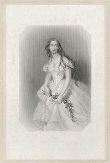 Lady Eleanor Cecily Clifton (née Lowther), by John Henry Robinson, after  Alfred Edward Chalon - NPG D33454