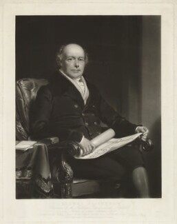 John Clitherow, by R.P. Barlow, after  Henry William Pickersgill - NPG D33455