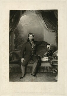 King George IV, by P. Thomas, published by  Graves & Warmsley, after  Sir Thomas Lawrence - NPG D33349