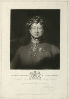 King George IV, by William Say, published by  William Sams, after  Frederick Richard Say - NPG D33351