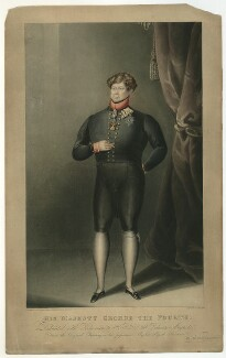King George IV, by and published by G.M. Brighty - NPG D33352