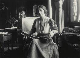 Hilda Harrisson, by Lady Ottoline Morrell - NPG x140428