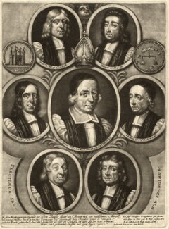 The Seven Bishops Committed to the Tower in 1688, by Pieter Schenck, after  Unknown artist - NPG D9286