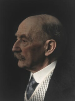 Thomas Hardy, by Olive Edis, 1914 - NPG  - © National Portrait Gallery, London