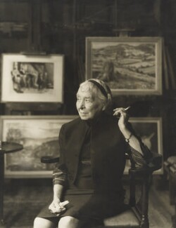 Laura Knight, by Madame Yevonde, 1967 - NPG x26357 - © Yevonde Portrait Archive