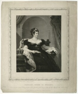 Caroline Amelia Elizabeth of Brunswick, by and published by Henry Meyer, after  James Lonsdale - NPG D33361