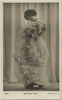 Hilda Moody, by Lallie Charles, published by  Rotary Photographic Co Ltd - NPG x131848