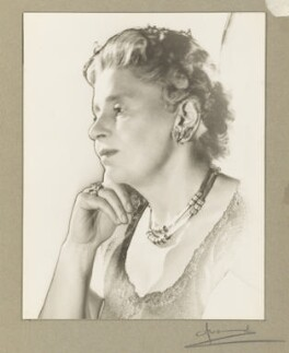 Dame Rebecca West (Cicily Isabel Andrews (née Fairfield)), by Madame Yevonde - NPG x29833