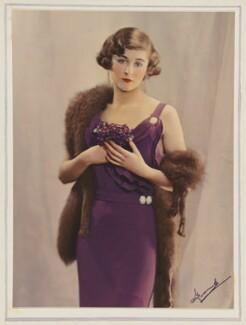 Molly Bishop, by Madame Yevonde - NPG x31542