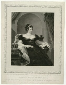 Caroline Amelia Elizabeth of Brunswick, by and published by Henry Meyer, after  James Lonsdale - NPG D33362