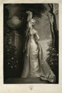 Caroline Amelia Elizabeth of Brunswick, by John Murphy, published by  John Jeffryes, after  Thomas Stothard, published 21 May 1795 - NPG D33364 - © National Portrait Gallery, London