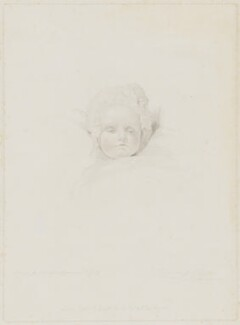 Princess Charlotte Augusta of Wales, by Frederick Christian Lewis Sr, published by  Colnaghi, Son & Co, after  Sir Thomas Lawrence - NPG D33511