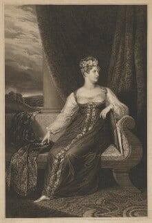 Princess Charlotte Augusta of Wales, by Robert Cooper, after  George Dawe - NPG D33516