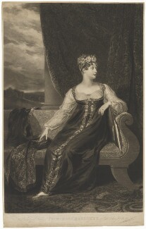 Princess Charlotte Augusta of Wales, by Samuel William Reynolds, after and published by  George Dawe - NPG D33517