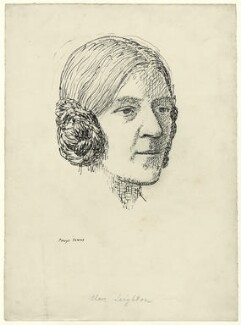 Clare Leighton, by Powys Evans - NPG D33465