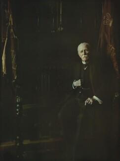 Sir George Wentworth Alexander Higginson, by Olive Edis - NPG x7189
