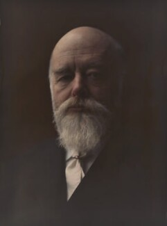 Sir Oliver Joseph Lodge, by Olive Edis - NPG x7194