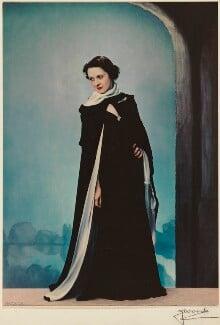 Beatrix Thomson, by Madame Yevonde, 1936-1937 - NPG x26404 - © Yevonde Portrait Archive