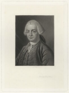 Robert Clive, 1st Baron Clive, by James Scott, after  James Macardell, after  Thomas Gainsborough - NPG D33527