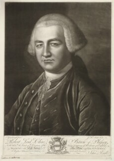 Robert Clive, by James Macardell, after  Thomas Gainsborough - NPG D33528