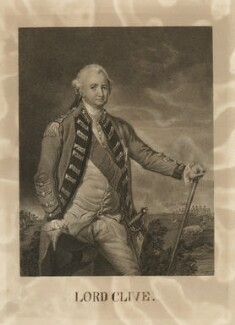 Robert Clive, 1st Baron Clive, after Nathaniel Dance (later Sir Nathaniel Holland, Bt), 19th century - NPG D33530 - © National Portrait Gallery, London