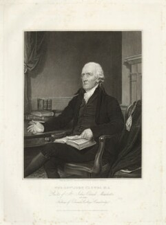 John Clowes, by Edward Scriven, after  Joseph Allen - NPG D33538