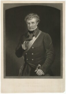 Colin Campbell, 1st Baron Clyde, by George Zobel, after  Henry Wyndham Phillips, published 1856 - NPG D33540 - © National Portrait Gallery, London