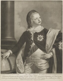 King William IV, by and published by Valentine Green, after  Benjamin West, published 1 February 1780 - NPG D33544 - © National Portrait Gallery, London