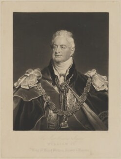 King William IV, by Charles Turner, published by  Francis Graves & Co, after  Sir Martin Archer Shee - NPG D33550