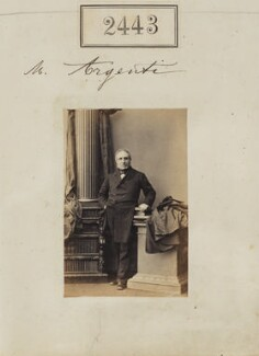 Ambrose Argenti, by Camille Silvy, 10 March 1861 - NPG Ax51832 - © National Portrait Gallery, London