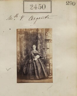 Vierou ('Vera') Schilizzi (née Argenti), by Camille Silvy - NPG Ax51839