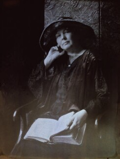 Dame Christabel Pankhurst, by Olive Edis - NPG x7200