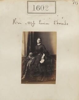 Hon. Louisa Jane Newenham (née Edwardes), by Camille Silvy, 2 November 1860 - NPG Ax50996 - © National Portrait Gallery, London