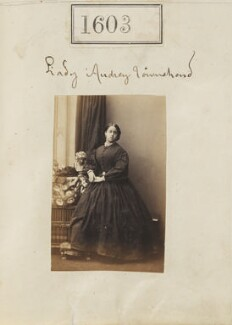Lady Audrey Jane Charlotte Buller (née Townshend), by Camille Silvy - NPG Ax50997