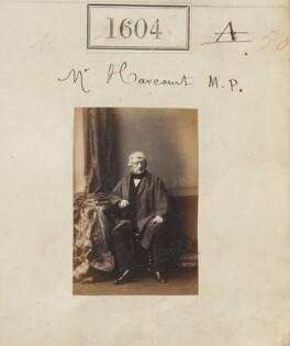George Granville Venables (né Vernon) Harcourt, by Camille Silvy, 2 November 1860 - NPG Ax50998 - © National Portrait Gallery, London