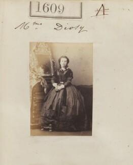 Leonie Diosy (née Meunier), by Camille Silvy - NPG Ax51003