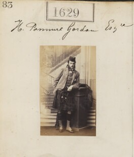 Henry ('Harry') Panmure Gordon, by Camille Silvy, 7 November 1860 - NPG  - © National Portrait Gallery, London